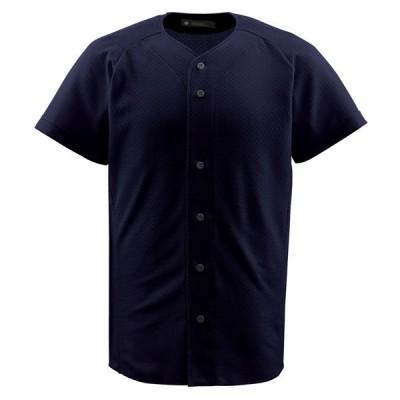 デサント(DESCENTE) フルオープンシヤツ 野球 ソフト ユニホーム メンズ シャツ ZE-JDB1010 □