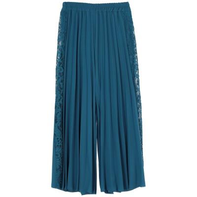 ベルナ BERNA 7分丈スカート エメラルドグリーン S ポリエステル 100% / レーヨン / ポリウレタン 7分丈スカート