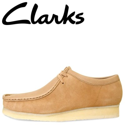 Clarks クラークス ワラビーブーツ メンズ WALLABEE BOOT ライト ブラウン 26148596
