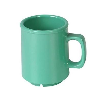 Thunder Group Color Green melamine dinnerware collection 8 oz mug, comes in dozen並行輸入品