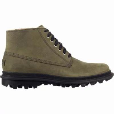 ソレル ブーツ Ace Chukka Waterproof Shoes Quarry/Black