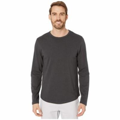オルタナティヴ Alternative メンズ 長袖Tシャツ トップス Long Sleeve Hemp-Blend Tee Shadow