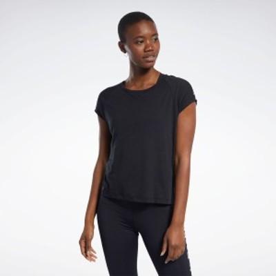 【公式】リーボック Reebok アウトレット商品 バーンアウトTシャツ / Burnout Tee レディース トレーニング ウェア 半袖Tシャツ