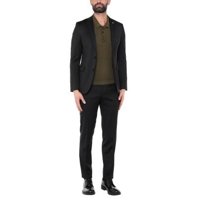 マニュエル リッツ MANUEL RITZ スーツ ダークブルー 50 レーヨン 64% / ポリエステル 34% / ポリウレタン 2% スーツ