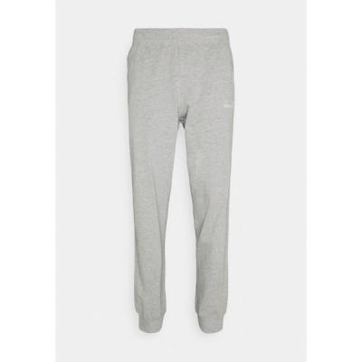 ディアドラ カジュアルパンツ メンズ ボトムス PANT CUFF LIGHT CORE - Tracksuit bottoms - light middle grey melange