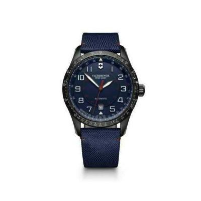 ビクトリノックス 腕時計 New Victorinox Swiss Army AirBoss Mechanical Blue Dial メンズ Watch 241820