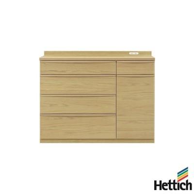 食器棚 キッチンカウンター 幅120cm 高さ95cm 開梱設置無料 完成品 キッチン収納 収納 キッチンボード オーク材 代引不可