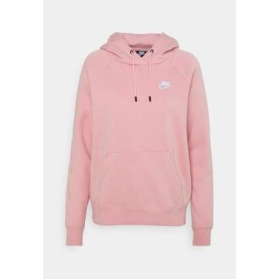 ナイキ レディース ファッション HOODIE - Sweatshirt - pink glaze/white
