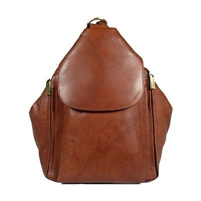 New girls/ladies gorgeous Visconti brown soft leather backpack bag style 18357 並行輸入品