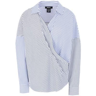 DKNY シャツ ホワイト XS コットン 100% シャツ