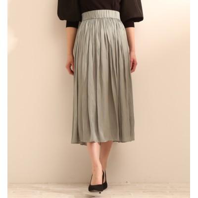 【ティアラ/TIARA】 ヴィンテージサテンスカート(セットアップ対応可)