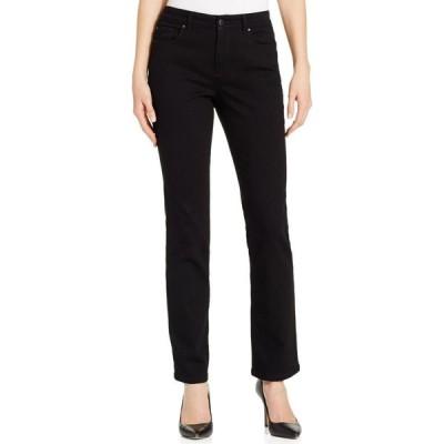 チャータークラブ Charter Club レディース ジーンズ・デニム ボトムス・パンツ Lexington Straight-Leg Jeans Saturated Black