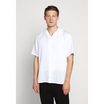 クラブ モナコ シャツ メンズ トップス Shirt - white
