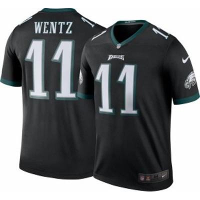 ナイキ メンズ シャツ トップス Nike Men's Color Rush Legend Jersey Philadelphia Eagles Carson Wentz #11