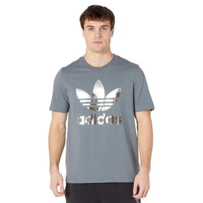 (取寄)アディダス オリジナルス メンズ アディダス オリジナル トレフォイル ホログラム ティーTシャツ adidas originals Men's adidas Originals Trefoil