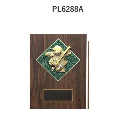 楯 野球 ソフトボール PL6288A 23×17cm 文字入れ無料