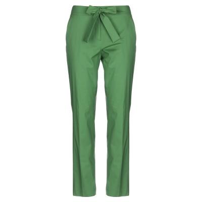 VIA MASINI 80 パンツ グリーン 42 コットン 97% / ポリウレタン 3% パンツ