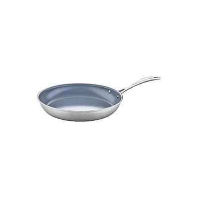 ZWILLING Spirit Ceramic Nonstick Fry Pan, 12-inch, Stainless Steel