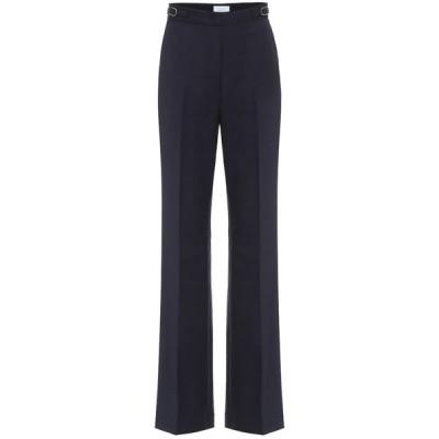 ガブリエラ ハースト Gabriela Hearst レディース ボトムス・パンツ Vesta high-rise wide-leg wool pants Dark Navy