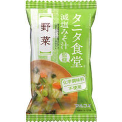 マルコメインスタント味噌汁 FDタニタ食堂監修 野菜 1箱(10食入) マルコメ(わけあり品)