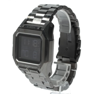 【NIXON】 Regulus Stainless Steel ユニセックス Gunmetal F(フリー) NIXON