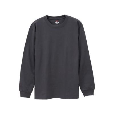 tシャツ Tシャツ ビーフィー ロングスリーブ Tシャツ (H5186)  BEEFY-T  Hanes(ヘインズ)