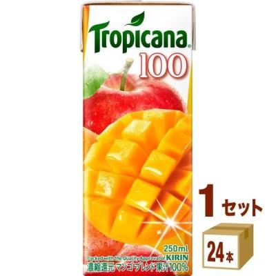 トロピカーナ マンゴーブレンドパック250ml(24本入)