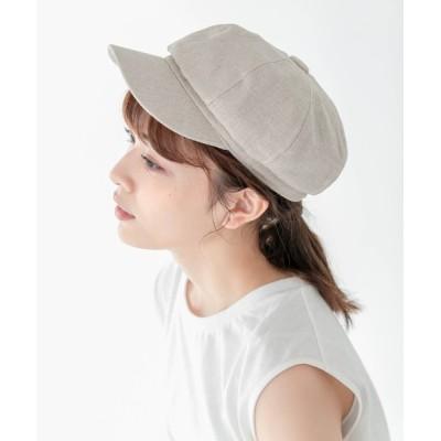 Edit Sheen / リネン風キャスケット WOMEN 帽子 > キャスケット