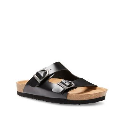 イーストランド Eastland Shoe レディース サンダル・ミュール シューズ・靴 Eastland Cambridge Double Strap Sandals Black