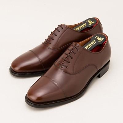 墨田区 ふるさと納税 紳士靴スコッチグレイン「アシュランス」  NO.3526 ダークブラウン 24.5cm EEE