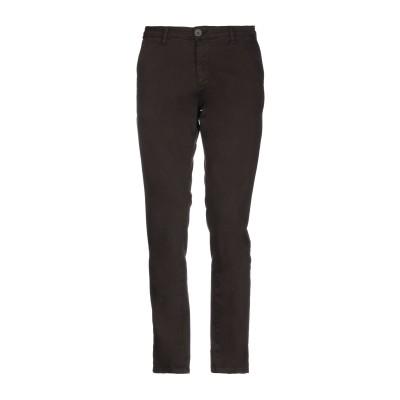 LIU •JO MAN パンツ ダークブラウン 30 コットン 98% / ポリウレタン 2% パンツ