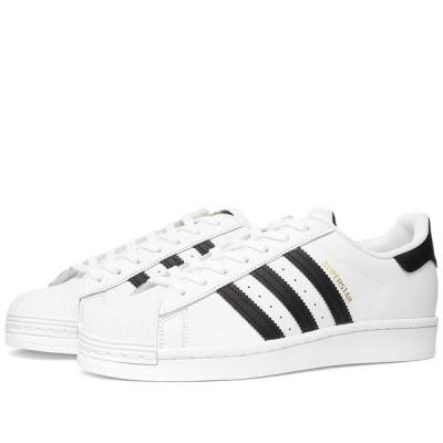 アディダス Adidas Womens レディース スニーカー シューズ・靴 Adidas Superstar White/Core Black