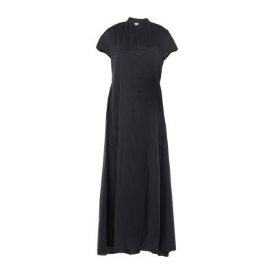 リビアナ コンティ LIVIANA CONTI ロングワンピース&ドレス ダークブルー 42 コットン 68% / ナイロン 28% / ポリウレタ