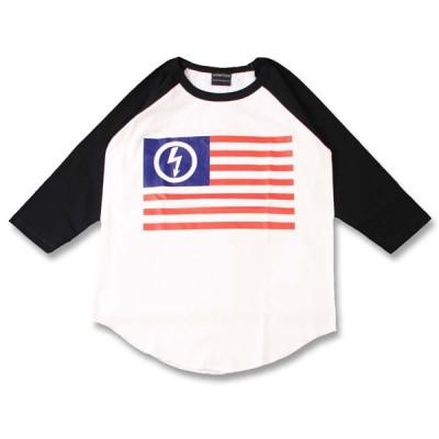 (W) マリリンマンソン MARILYN MANSON 2 WHT×BLK B/B(七分袖) ラグラン ベースボールTシャツ 7分袖 バンドTシャツ ロックTシャツ