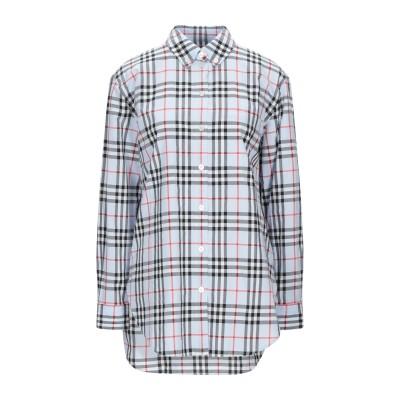 BURBERRY シャツ スカイブルー 10 コットン 100% シャツ