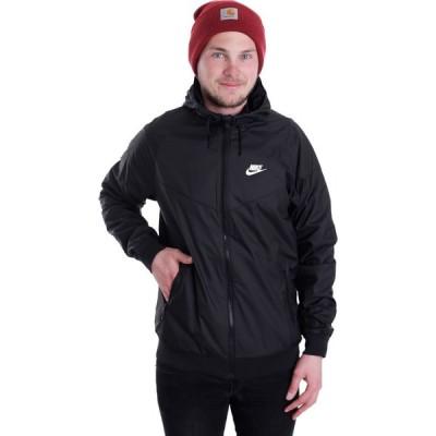 ナイキ Nike メンズ ジャケット アウター - Windrunner Black/Black/Black/White - Jacket black