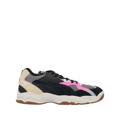 PUMA x RHUDE スニーカー&テニスシューズ(ローカット) ブラック 9.5 紡績繊維 / 柔らかめの牛革 スニーカー&テニスシューズ(ロー
