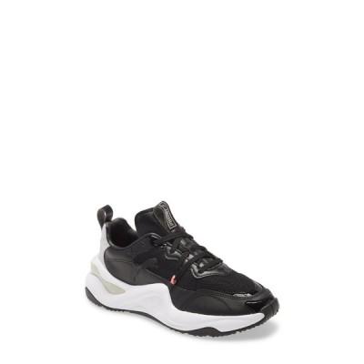 プーマ レディース スニーカー シューズ Rise Sneaker PUMA BLACK/ SALMON ROSE