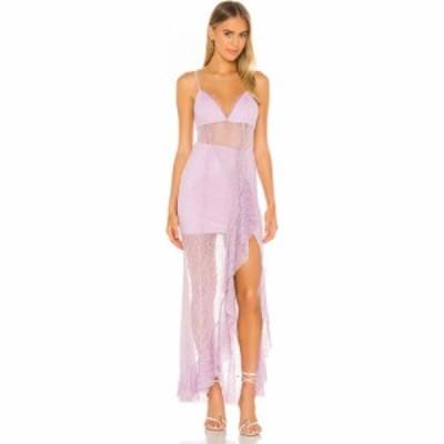 エヌビーディー NBD レディース パーティードレス ワンピース・ドレス Sinatra Gown Lavender