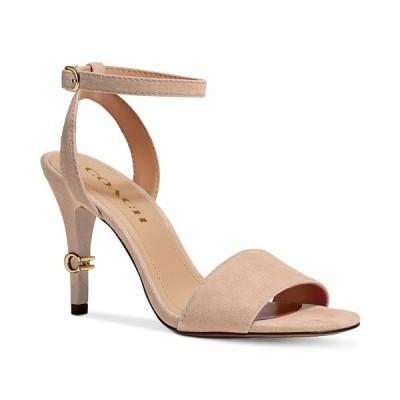 コーチ サンダル シューズ レディース Women's Regina Two-Piece Dress Sandals Beechwood