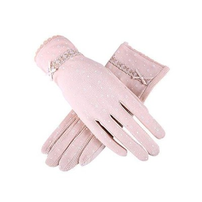 Euyqs レディース手袋 UVカット アームカバー ロンググローブ 紫外線対策 日焼け止め 自動車 車運転手袋 (#1 ベージュ)