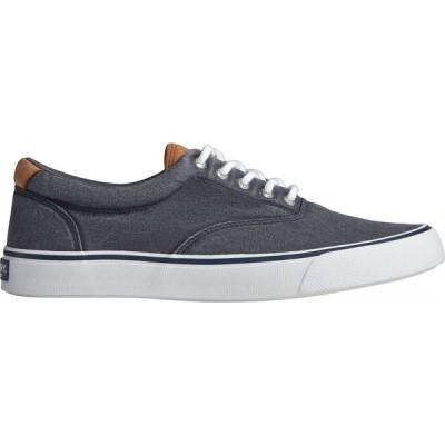 スペリートップサイダー Sperry Top-Sider メンズ シューズ・靴 Sperry Striper II CVO Salt Wash Casual Shoes Navy