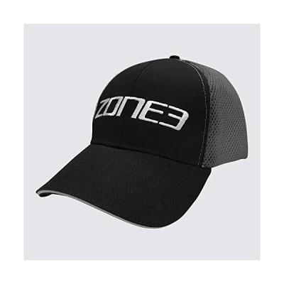 ZONE3 Truckerメッシュキャップ ブラック/グレー ワンサイズ