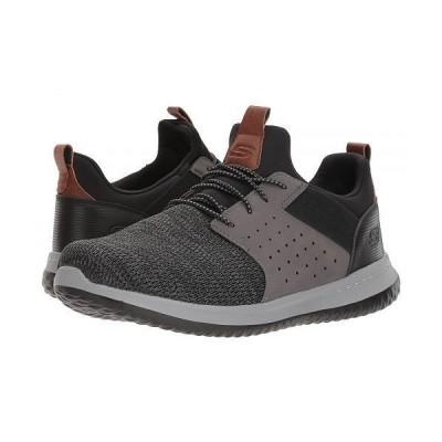 SKECHERS スケッチャーズ メンズ 男性用 シューズ 靴 スニーカー 運動靴 Classic Fit Delson Camben - Black/Grey