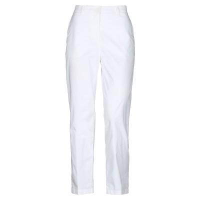 アスペジ ASPESI パンツ ホワイト 38 コットン 97% / ポリウレタン 3% パンツ