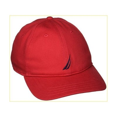 Nautica メンズ Jクラス 帽子 US サイズ: One Size カラー: レッド