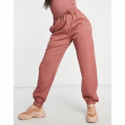 イルサルト Il Sarto レディース ジョガーパンツ ボトムス・パンツ Oversized Joggers Co-Ord In Dusky Rose ダスキーローズ