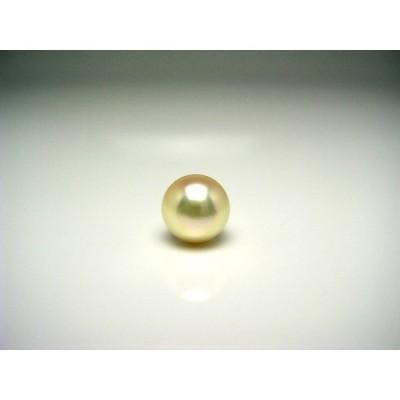 真珠 ネクタイピン パール アコヤ真珠 9.2mm K18 イエローゴールド 針 57002