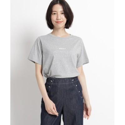 Dessin/デッサン 【XS~Lサイズあり・洗える】汗染み軽減天竺Tシャツ グレー(012) 00(XS)