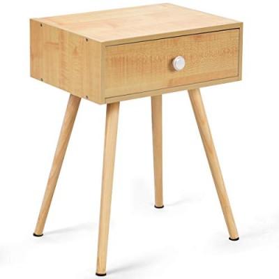 《新品送料無料》 BestBuy サイドチェスト サイドテーブル チェスト テーブル ベッドサイド ソファサイド リビング ナチュラル 幅40×奥行30×高さ54.5cm